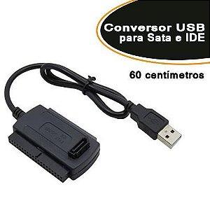 Conversor USB para Sata e IDE AD7 - Empire