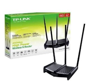 Roteador TP-Link 941HP 3 Antenas 9dbi 450 Mbps