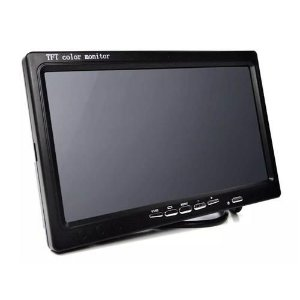 Tela Lcd 7 Polegadas Portátil Monitor - Cameras