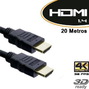 Cabo HDMI 1.4 3D 20 Metros - Empire