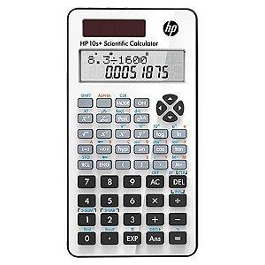 Calculadora Científica HP 10+ com 240 Funções - Branca/Preta