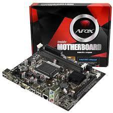 Placa Mãe AFOX IH61-MA5 Socket LGA 1155 - até 2 DDR3