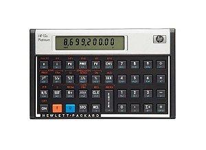 Calculadora Financeira Platinum 12C - HP