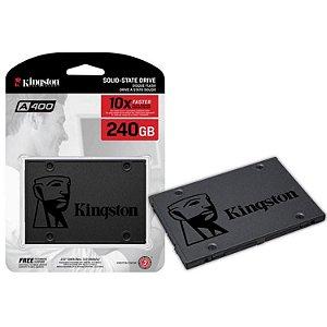 SSD 240GB Kingston HD 2.5 Sata Ill A400 - SA400S37/240G