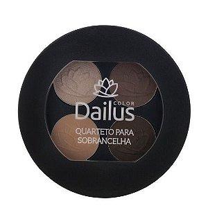 Dailus - Quarteto para sombracelha 4,5g