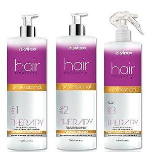 BAZAR: Plancton - Hair Recovery Therapy Kit 3 passos (Shampoo + Máscara + Tônico)