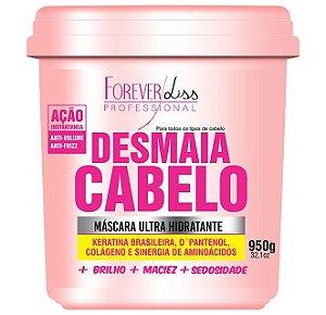 Forever Liss - Desmaia Cabelo Máscara Hidratante Anti Volume e Anti Frizz 950g