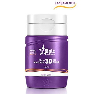 Magic Color - Mini Matizador 3D Ice Blond Efeito Cinza 100ml