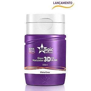 Magic Color - Mini Matizador 3D Ice Blond Efeito Cinza 100ml