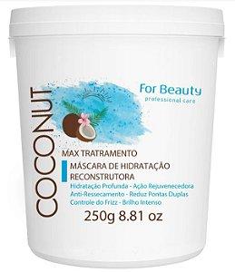 For Beauty - Max Tratament Coconut Máscara 250g