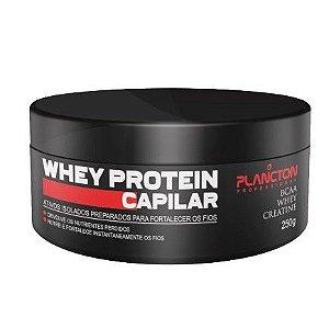 Plancton - Whey Protein Máscara Reconstrução Capilar 250g