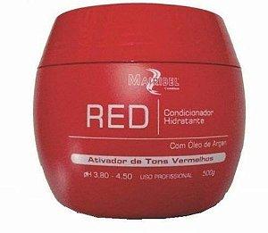 Mairibel Cosméticos - Red Ativador de Tons Vermelhos Condicionador Hidratante 500g