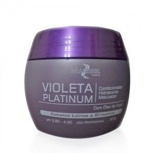 Mairibel Cosméticos - Violeta Platinum Condicionador Matizador Hidratante 500g