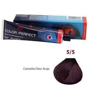 Wella - Color Perfect vibrant Reds Cores 5/5, 6/45, 7/4, 7/45, 77/44