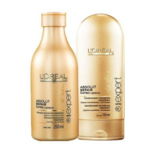 L'Oréal - Absolut Repair Cortex Lipidium Kit Shampoo 250ml e Condicionador 150ml