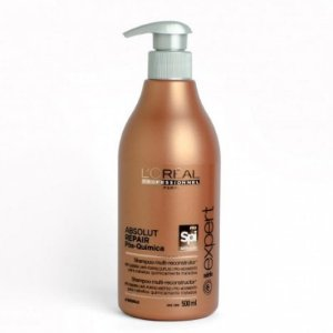 L'Oréal Professionnel - Spirulin Shampoo Absolut Repair Pós-Química Multi-reconstrutor 500ml