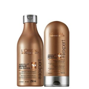 L'Oréal Professionnel - Spirulin Absolut Repair Pós-Química kit Shampoo 250ml e Condicionador 150ml