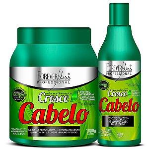 Forever Liss - Cresce Cabelo Kit Shampoo 500ml + Máscara 1kg
