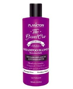Plancton - Shampoo Blond Liso Absoluto The Grand Cru Desamarelador 500ml