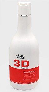 Magic Color - Gloss Matizador 3D Mega Red Cabelos Vermelhos 500ml EMBALAGEM ANTIGA - VENCIMENTO MAIO 2017