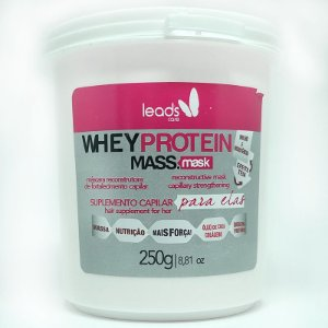 Leads Care - Whey Protein Mass Máscara Capilar 250g