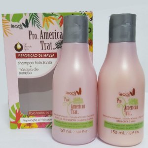 Leads Care - American Trat Kit (Shampoo 150ml + Máscara 150ml)