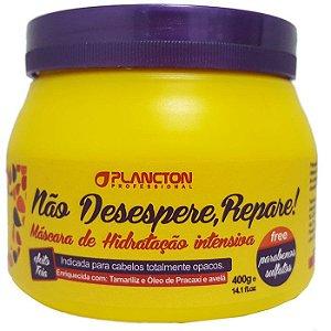 Plancton - Não desespere, Repare! Máscara de Hidratação Intensiva 400g