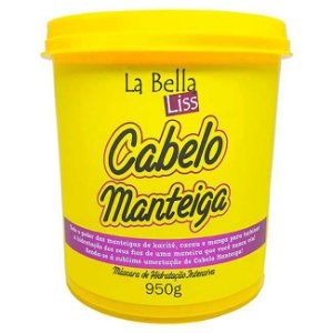 La Bella Liss - Cabelo Manteiga Máscara de Nutrição 950g
