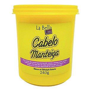 La Bella Liss - Cabelo Manteiga Máscara de Nutrição Profunda 240g