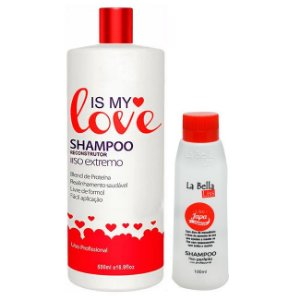 Is My Love - Shampoo que Alisa 500ml + Grátis Liso Japa La Bella Liss 100ml