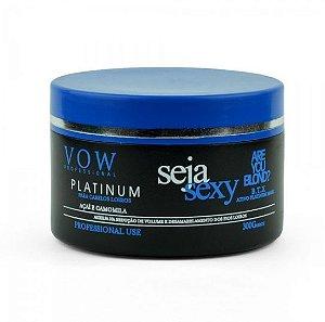 Vow Professional - Seja Sexy Redutor de Volume Platinum 300g (Creme Alisante)