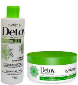 Plancton - Kit Detox Shampoo 250ml + Máscara 250g