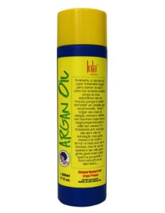 Lola Cosmetics - Argan Oil/Pracaxi Shampoo Reconstrutor 500ml Embalagem Antiga