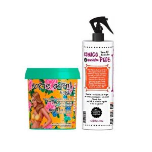 Lola Cosmetics - Kit Vem Verão Morte Súbita Verão 450g + Spray Bff Comigo Ninguém Pode 230 ml