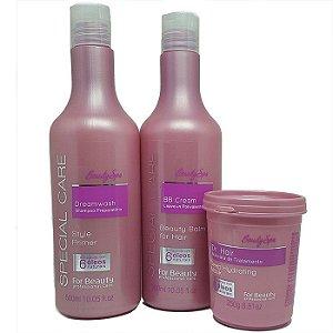 For Beauty - Special Care Beauty SPA! Kit Tratamento Shampoo, BB Cream e Máscara 250g