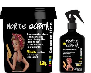 Lola Cosmetics - Morte Súbita Kit Máscara 450g + Reparação Total 250ml