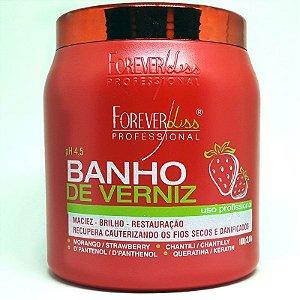 Forever Liss - Banho de Verniz Morango 1kg