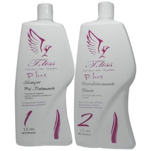 T.Liss - Escova Progressiva Perfect Hair System Plus 2 passos  (1,5l cada)