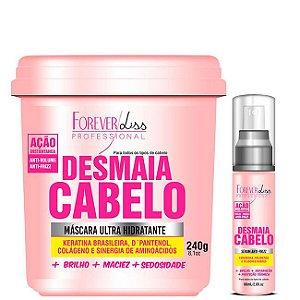 Forever Liss - Desmaia Cabelo Máscara Hidratante 350g EDIÇÃO LIMITADA + Sérum 60ml
