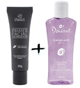 Dailus Color - Primer Facil 30g + Demaquilante Oil Free 140 ml