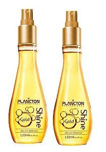 Plancton - Kit Shine Gold Spray de Brilho Dourado Intenso 120ml VENCIMENTO ABRIL 2017