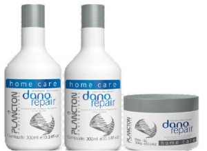 Plancton - Dano Repair Kit Shampoo 300g, Máscara 300g e Leave-in 300g VENCIMENTO 03/2017