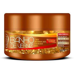 Keratinex - Máscara Concentrada Banho de Verniz Extra Brilho 250g