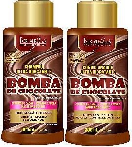 Forever Liss - Bomba de Chocolate Shampoo 300ml + Condicionador 300ml