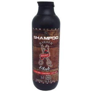 Lattans - Barber Club Shampoo Barba, Cabelo e Bigode 250ml