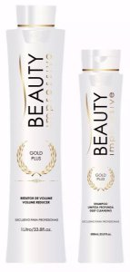 Beauty Impressive - Gold Plus Escova Progressiva (shampoo 500ml + redutor 1litro)