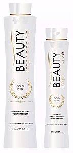 Beauty Impressive - Gold Plus Escova Progressiva (shampoo 500ml + redutor 1litro)