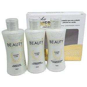 Beauty Impressive - Summer Care Shampoo, Condicionador, Leave-in 70ml cada