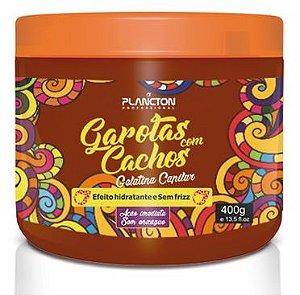 Plancton - Garotas com Cachos Gelatina Capilar 400g