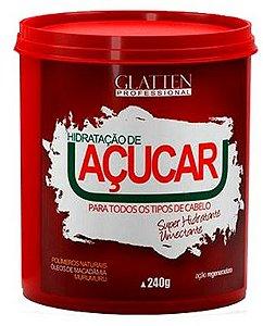 Glatten Professional - Reconstrução de Açúcar Máscara 240g